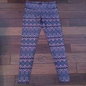 Onzie Day of the Dead yoga pants